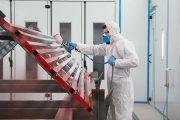 Подготовка поверхности под окраску. Оценка качества подготовки по ISO 8501